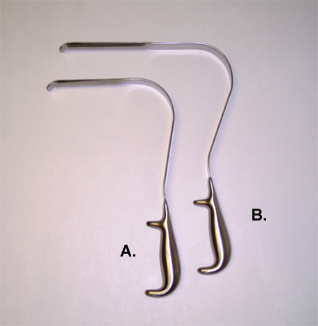 "Wylie ""Deep"" Pelvic Retractor"